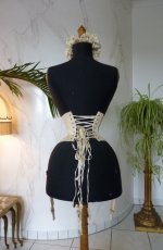 22 antique wedding corset 1885
