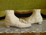 17 antique wedding shoes 1830