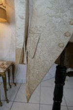 6 antique rococo wedding coat 1740