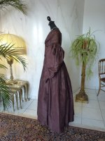 18 antique romantic period gown 1837
