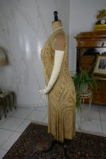 21 antique beaded flapper evening dress 1922