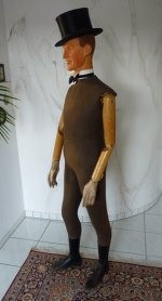 4 antique male mannequin