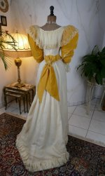 25 antique evening dress 1895