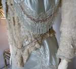 4 antique evening gown Worth 1894