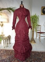 5 antique wedding gown 1878