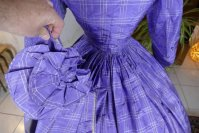 27 antique crinoline dress 1860
