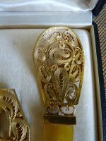 7 antique belt buckle 1910