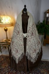 antique victorian shawl 1850