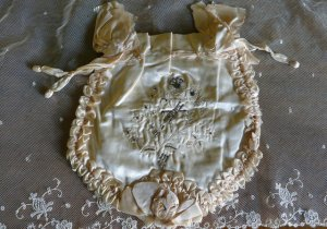 antique wedding handbag 1900