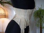 27 antique wedding corset 1885