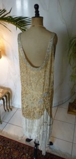 45 antique flapper dress 1920