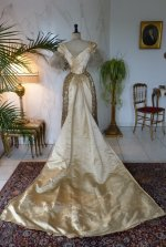 31 WORTH evening dress 1898