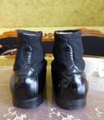 14 antique mens high button shoes