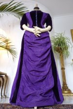 2 bustle gown 1885