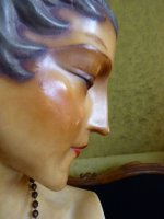 33 antique wax mannequin 1920