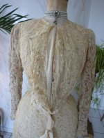 49 antique reception gown 1901