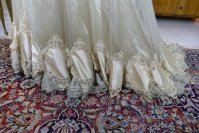 16 antique ball gown 1900