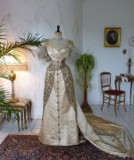 2 WORTH evening dress 1898