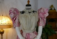 1 antique ball gown 1895