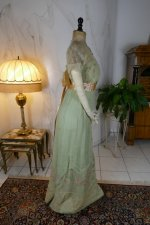 38 antique Jeanne Halle dress 1912