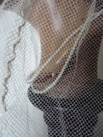 10 antique bridal cap veil