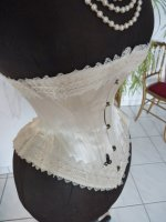 30 antique wedding corset 1880