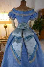 40 antique ball gown 1864