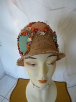 antique hat, antique sommer hat, sommer hat 1920, hat 1925, antique dress, antique gown, hat 20s, chapeau ancien, Cloche 1920, Cloche 1925, strow hat 1925, шляпе 1920, шляпе 1925