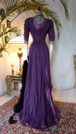 18 antique dress