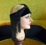 17 antique flapper headpice 1920