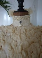6 antique wedding gown 1895
