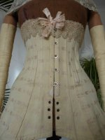5 antique corset 1900