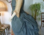 14 antique Ball gown 1876