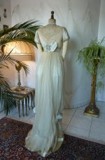 23 antique WORTH Evening Gown 1906