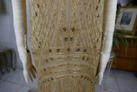 4 antique beaded flapper evening dress 1922