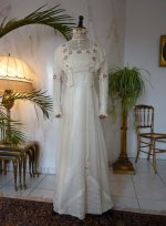 2 antique wedding dress 1910