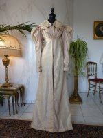 5a empire pelisse robe 1820