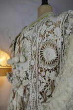 17 antique irish lace coat 1904