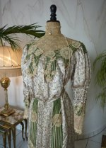 3 antique recpetion gown 1904