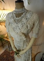 3a antique wedding dress