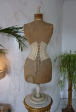 13 antique underbust corset 1900
