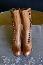 2 antique RADCLIFFE boots 1916