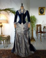 20 antique bustle dress 1878