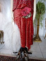 4 antique flapper dress Worth 1920