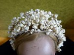 4 antique wax tiara 1912