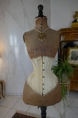 antique PD Marcel corset 1900