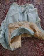 54 antique victorian ball gown 1859