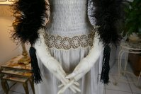 1 antique feather boa 1910