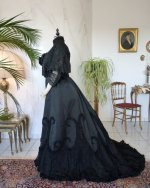 28 antique Worth evening dress 1898