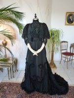 47 antique Worth evening dress 1898